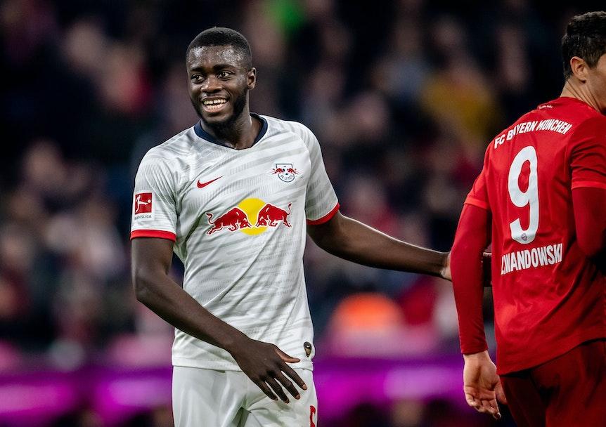 Dayot Upamecano fühlt sich wohl bei RB Leipzig und will länger bleiben