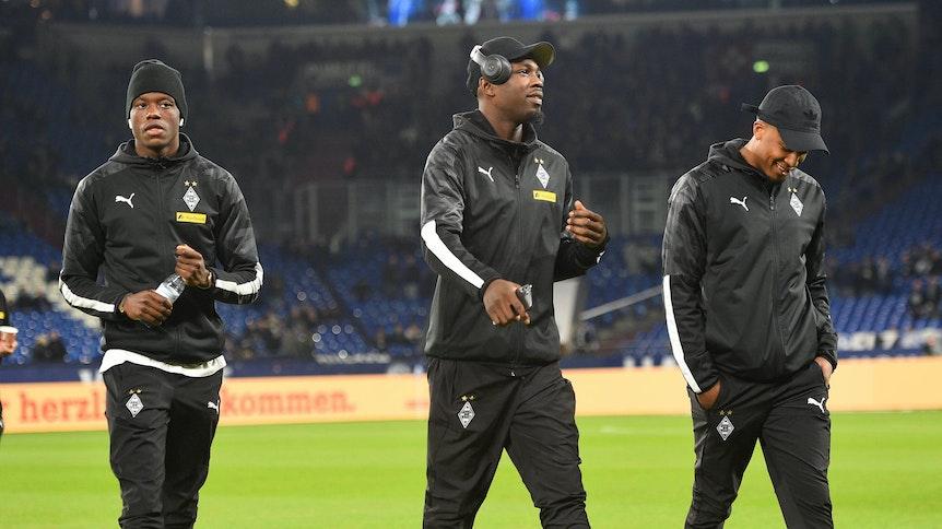 Denis Zakaria, Marcus Thuram, Alassane Plea: Wenn Borussia wollte, könnte sie das Trio selbst auf dem labilen Corona-Transfermarkt für in der Summe mehr als 100 Millionen Euro verkaufen.