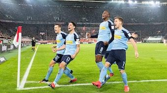 Sie prägten, wie so viele Fohlen, die zweitbeste Borussia-Saison seit 1984: Florian Neuhaus, Lars Stindl, Denis Zakaria, Patrick Herrmann (von links).