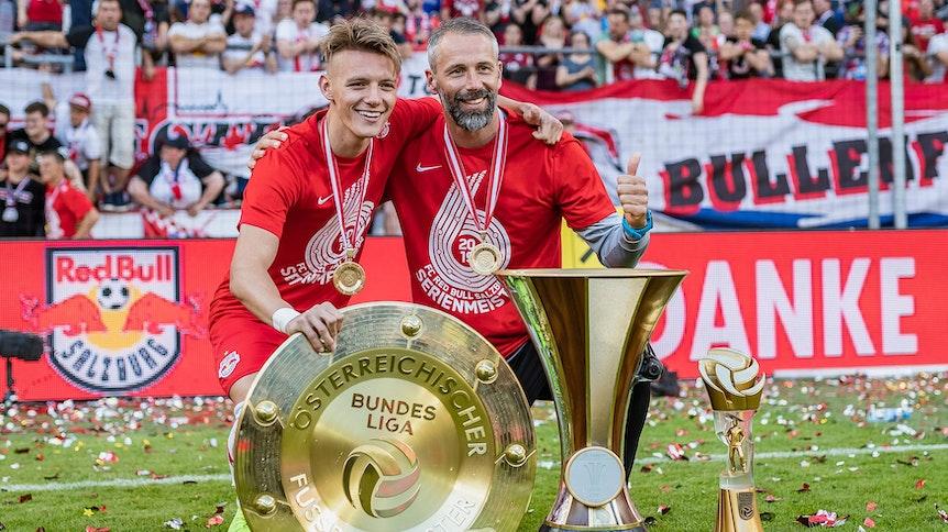 Hannes Wolf und Marco Rose könnten bei Borussia Mönchengladbach wieder zueinander finden.