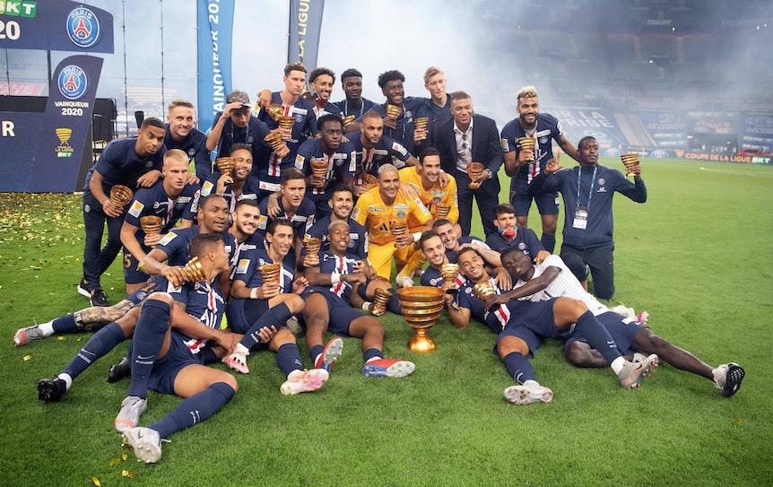 Dritter Titel der Saison: Paris gewinnt den Ligapokal