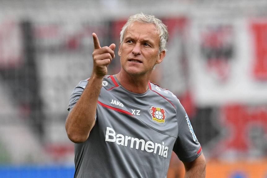 Xaver Zembrod (hier bei Bayer Leverkusen) wird neuer Co-Trainer von Julian Nagelsmann.