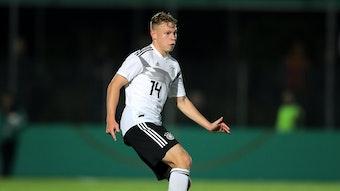 Aktueller U20-Nationalspieler: Kilian Ludewig.