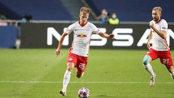 Dani Olmo war der erste Spieler bei RB, der bei Common Goal mitmachte. Konrad Laimer zieht nach.