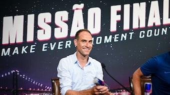Goldgrube Lissabon: Klubboss Oliver Mintzlaff freut sich über ungeplante Zusatzeinnahmen.