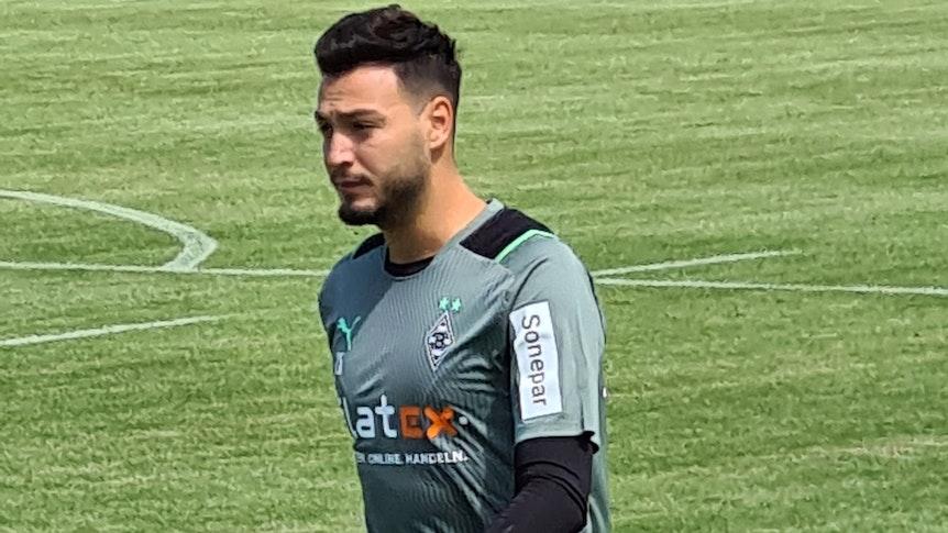 Ramy Bensebaini ist nach seinem Urlaub zurück im Borussia-Park. Am Mittwoch absolvierte er eine individuelle Einheit.