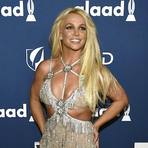 Britney Spears, Sängerin, bei den 29. GLAAD Media Awards 2018 in Beverly Hills: Ein freizügiges Foto auf Instagram sorgt bei den Fans für Verwirrung.