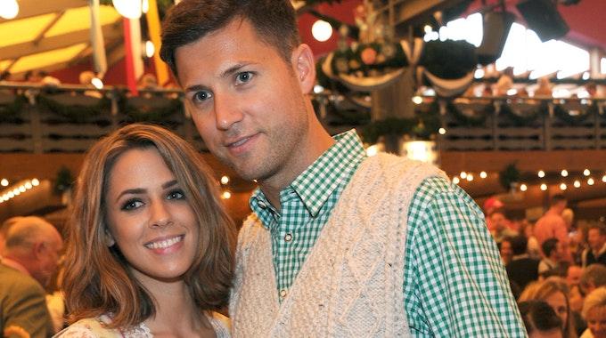 Vanessa Mai und ihr Mann Andreas Ferber 2016 beim Münchner Oktoberfest