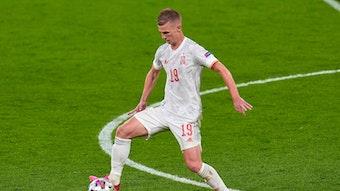 Dani Olmo schied mit der spanischen Nationalmannschaft bei der EM im Halbfinale gegen Italien aus.
