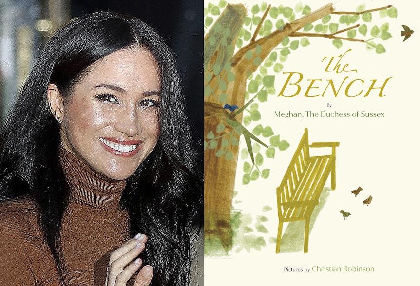 Herzogin Meghan präsentiert ihr Kinderbuch The Bench