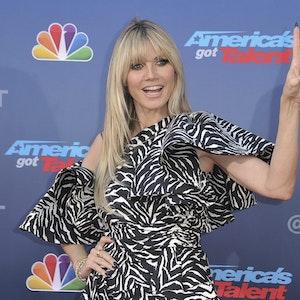 """Heidi Klum auf dem roten Teppich von """"America's Got Talent"""" in Pasadena"""