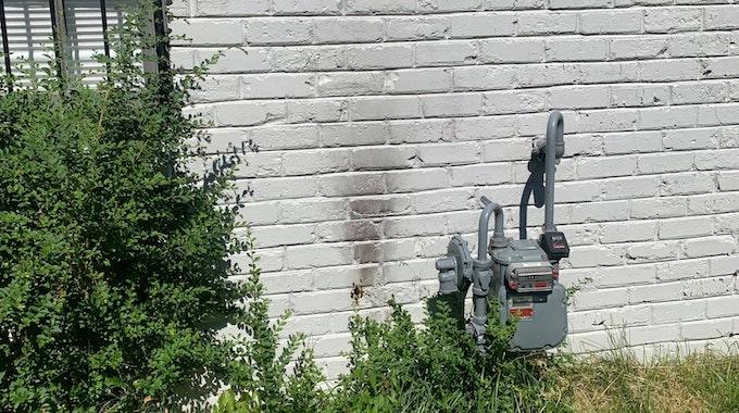 Bienen-Experten aus den USA posten auf ihrem Facebook-Account ein Foto von einer Hauswand in Memphis. Sie besteht aus weißen Backsteinen und wirkt harmlos. Doch hinter der Wand verstecken sich Tausende Bienen.