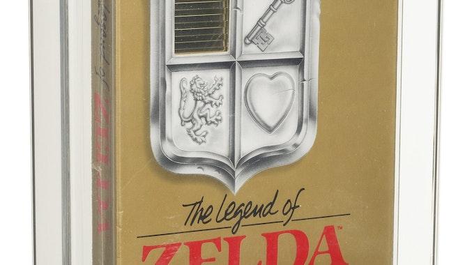 The Legend of Zelda in Originalverpackung