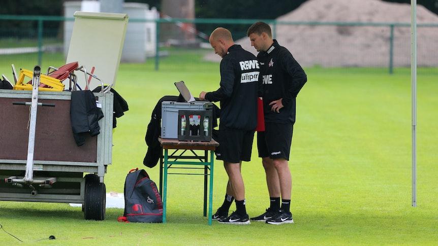 Der 1. FC Köln trainiert mit Schlager-Songs.