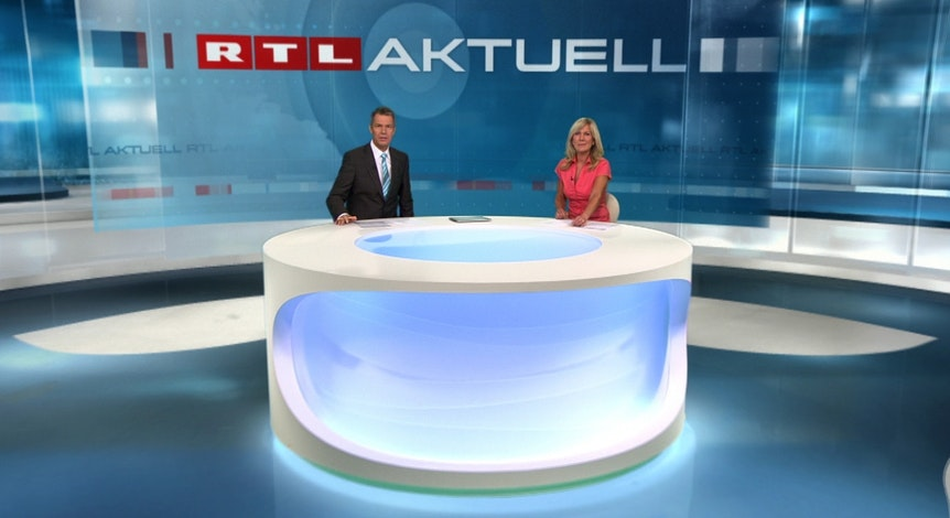 Peter Kloeppel moderiert RTL Aktuell.