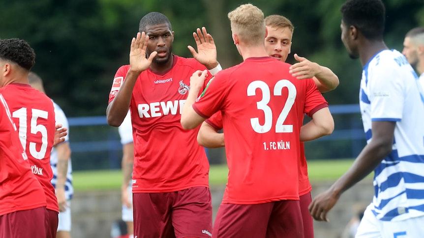 Anthony Modeste trifft für den 1. FC Köln.
