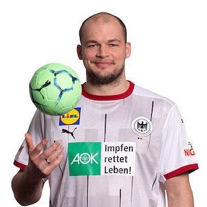 Handball-Nationalspieler Paul Drux