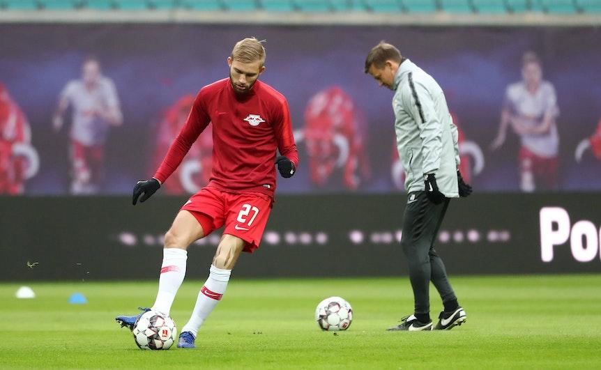 Konrad Laimer hat bereits mit Jesse Marsch trainiert.