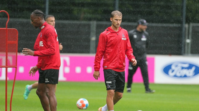 Sebastian Andersson beim FC-Training