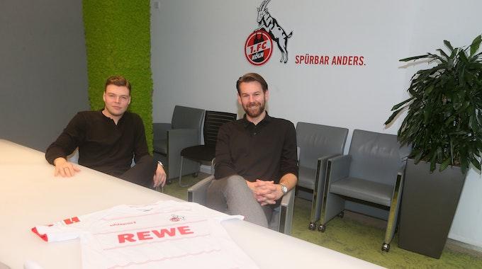 Lukas Berg und Thomas Kessler sprechen im Interview über ihre Rolle beim 1. FC Köln