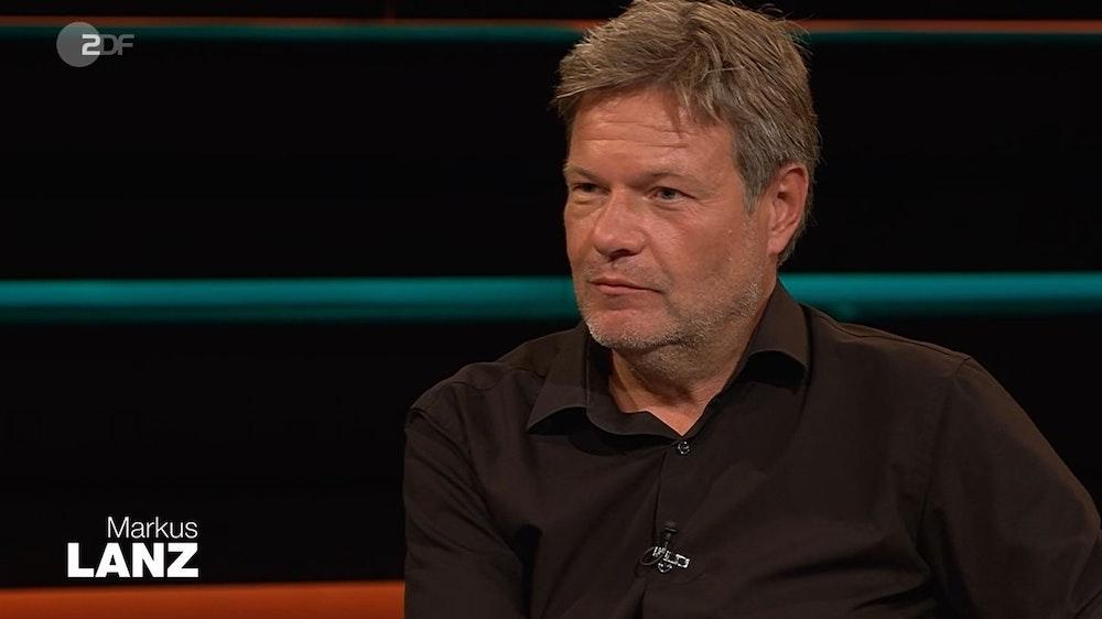 Grünen-Chef Robert Habeck ist am 14. Juli zu Gast bei Markus Lanz (ZDF) und findet klare Worte zur Plagiatsaffäre um Annalena Baerbock.