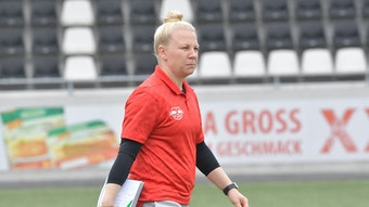 Katja Greulich will mit RB Leipzig in die nächste Runde des DFB-Pokals.