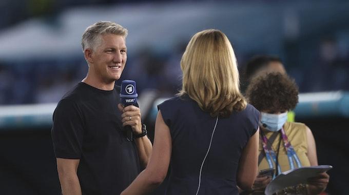 Bastian Schweinsteiger als TV-Experte in der ARD