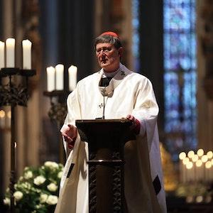 Kardinal Woelki während einer Messe im Kölner Dom.