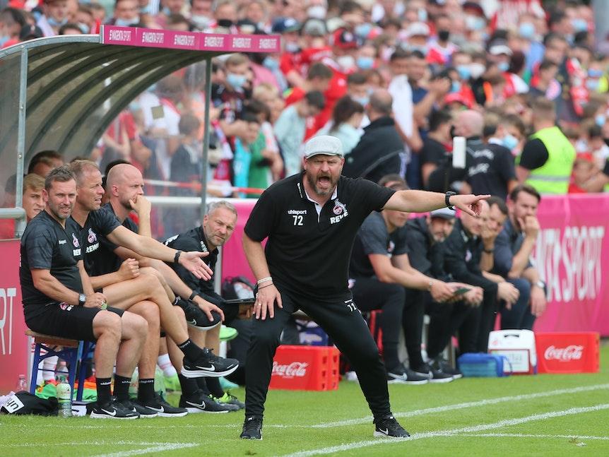 Steffen Baumgart beim Testspiel 1. FC Köln gegen FC Bayern München.