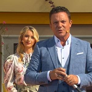 """Stefan Mross bei """"Immer wieder sonntags"""" am 18. Juli."""