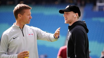 Bald wieder ein Team: Jesse Marsch (l.) und Emil Forsberg