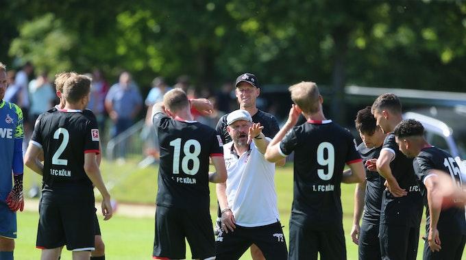 Steffen Baumgart beim Testspiel 1. FC Köln gegen FC Schaffhausen
