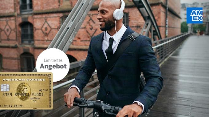 Für kurze Zeit erhalten Kunden bei Abschluss der American Express Gold Card, kurz Amex Gold, ein sogenanntes Mobilitäts-Guthaben, das für Buchungen bei der Deutschen Bahn, FREE NOW oder PARK NOW eingesetzt werden kann.