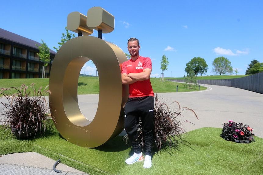 Louis Schaub im Trainingslager des 1. FC Köln