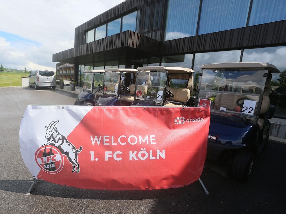 Das Mannschaftshotel des 1. FC Köln in Donaueschingen