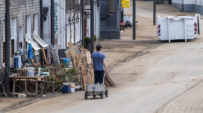 Das von der Flutkatastrophe schwer getroffene Solingen hatte am 14. Juli 2021 mit 45,8 den zweithöchsten Corona-Inzidenzwert in Deutschland.
