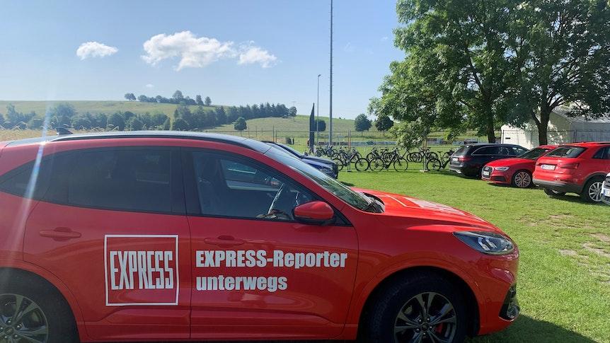 EXPRESS ist im Trainingslager des 1. FC Köln in Donaueschingen mit dabei.
