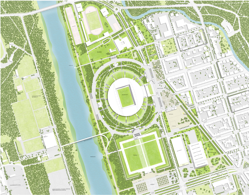 Planung Masterplan Stadionumfeld.