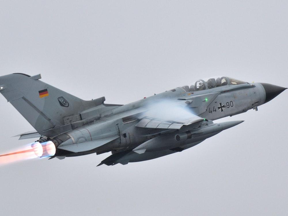 Ein Tornado der Bundeswehr (hier ein Archivfoto von 2016 in Büchel).