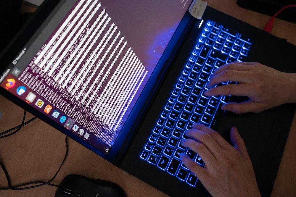 Internet-Ausfall in Deutschland, hier eine Tastatur