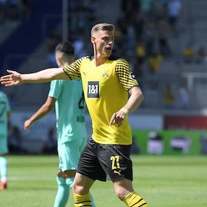 Steffen Tigges während eines testspiels von Borussia Dortmund gegen den VfL Bochum 1:3.