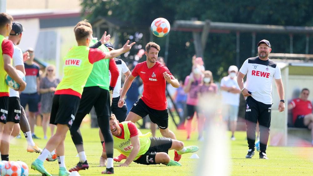 Der 1. FC Köln trainiert in Donaueschingen