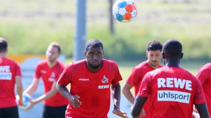 Anthony Modeste trainiert im Trainingslager des 1. FC Köln.