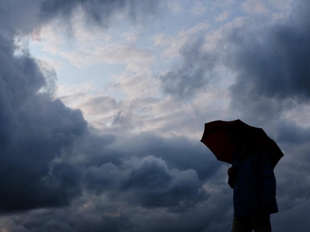 Zeitweise zog sich der Himmel zu (hier ein Archivfoto), doch die Unwetter blieben zum Glück aus.