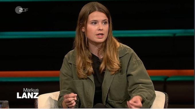 """Luisa Neubauer war am 21. Juli zu Gast in der ZDF-Talkshow """"Markus Lanz""""."""