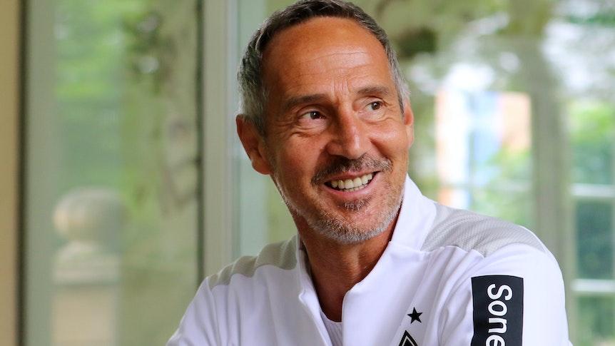 20.07.2021, Harsewinkel, GER, Fussball, Herren, BL, Saison 2021/2022, Borussia Moenchengladbach Training Trainer Adi Hütter / Huetter (Gladbach)