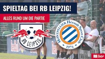 RB Leipzig empfängt HSC Montpellier.