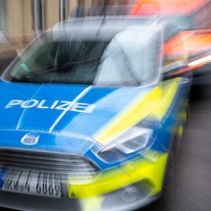 Ein Einsatzfahrzeug der Köln Polizei