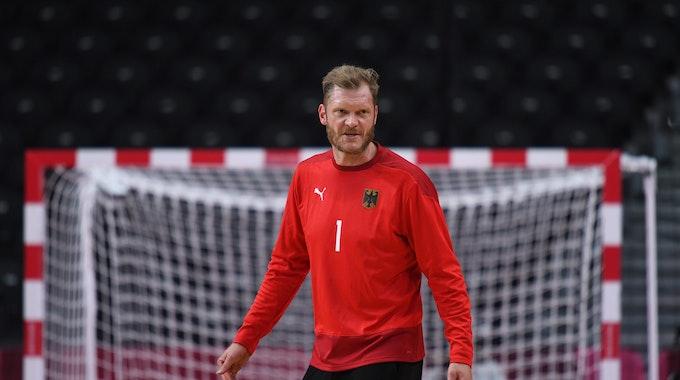 Johannes Bitter steht gegen Spanien zwischen den Pfosten
