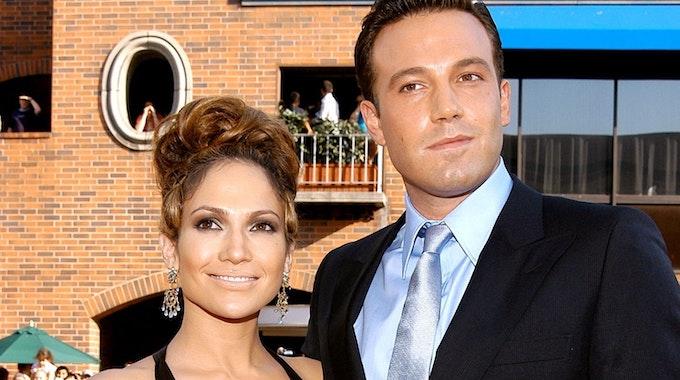 Jennifer Lopez und Ben Affleck 2003, während ihrer ersten Liebesbeziehung.